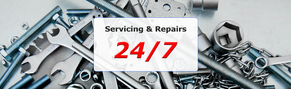 Garage doors serviced and repaired